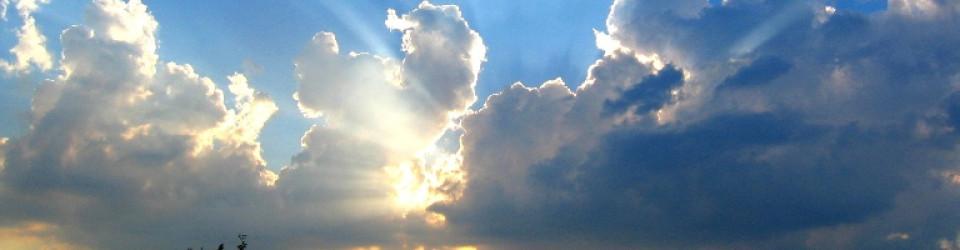 DIENST_Licht door wolken